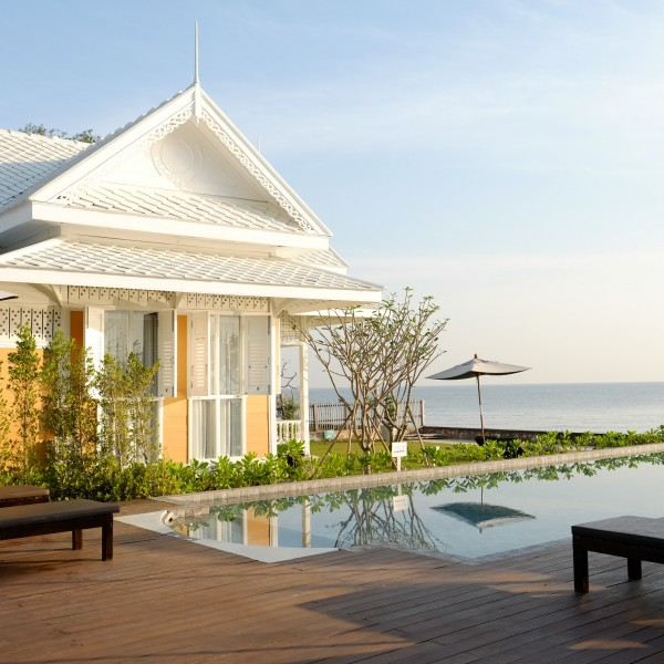 Lookmai beachfront villa
